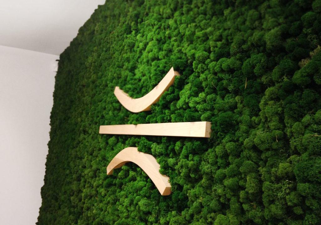 Verde verticale su pannelli Steelar AR